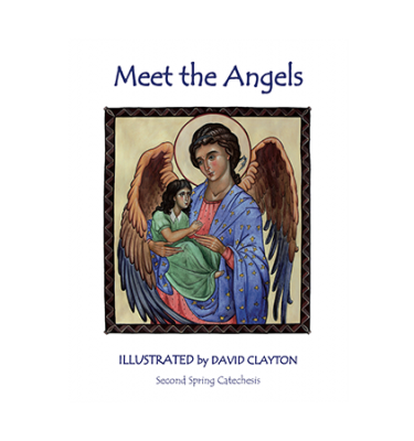Meet the Angels from the Bible: Catechetical colouring book
